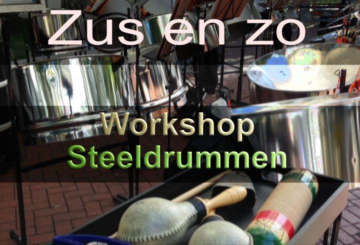 Workshop Steeldrummen (Zus@zo)